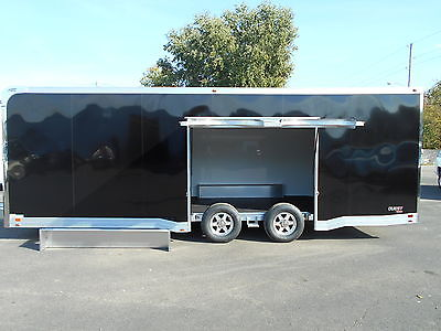 2016 ATC ALUMINUM 8.5x24 CH305 QUEST TRAILER RACE CAR HAULER PREMIUM ESCAPE DOOR