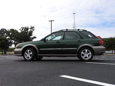Subaru : Impreza OUTBACK OUTBACK 4 dr Automatic Gasoline 2.5L 4 Cyl GREEN