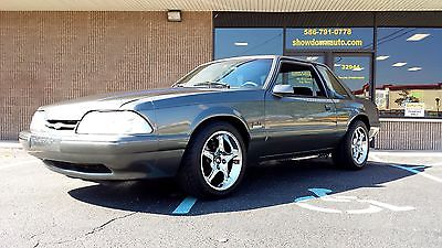 Ford : Mustang LX 5.0 1990 ford mustant lx 5.0 coupe notchback 5 speed custom interior