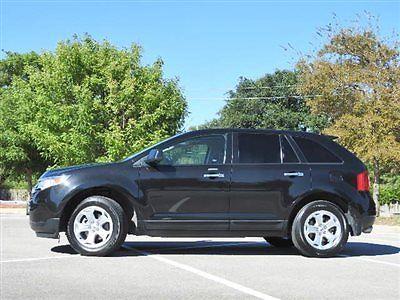 Ford : Edge 4dr SEL FWD 4 dr sel fwd ford edge sel low miles sedan automatic gasoline 3.5 l v 6 cyl black