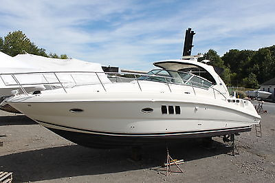 2008 Sea Ray 380 Sundancer Cruise twin MerCruiser VD-8.1 S r   Low Reserve