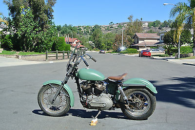 Harley-Davidson : Sportster HARLEY. Sportster. XLA. Ironhed. Military. Rare. 1000. COLLECTOR.