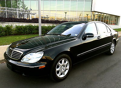 Mercedes-Benz : S-Class S Class 2002 mercedes benz s 430 one owner absolutly stunning condition near mint