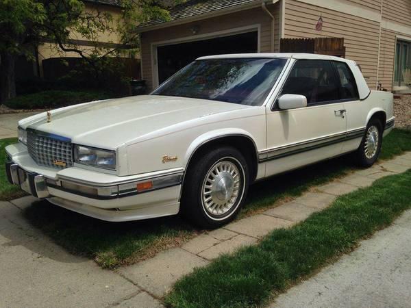 1991 Cadillac Eldorado for: $5000