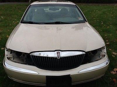 Lincoln : Continental Base Sedan 4-Door 2001 lincoln continental base sedan 4 door 4.6 l for parts