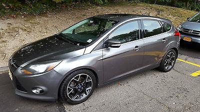 Ford : Focus Titanium 2012 ford focus titanium hatchback bluetooth leather seats sunroof nav back up