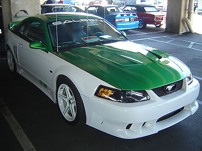 Ford : Mustang SALEEN S281 S/C 2004 ford mustang saleen s 281 supercharged 27 white on white 1 of 1