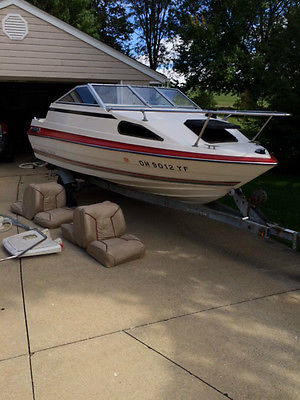 Bayliner Capri Cuddie PROJECT with trailer - LAST CHANCE - offers considered
