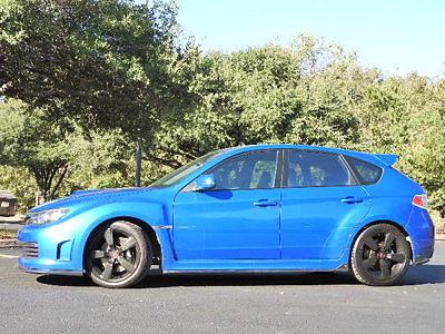 Subaru : Impreza STI Suburu Impreza Wagon WRX- STI 4 dr Manual Gasoline 2.5L 4 Cyl WR Blue Mica