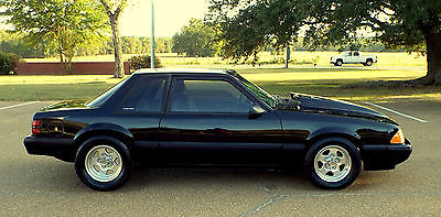 Ford : Mustang 5.0 LX FOX BODY TRUNK HATCHBACK 1989 mustang notch lx fox body 5.0 347 stroker show quality paint fresh build