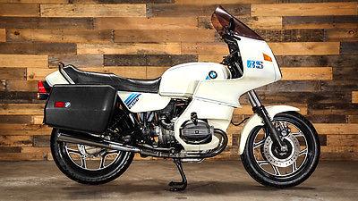 BMW : R-Series 1988 bmw r 100 rs 42 k pearl white luggage monoshock survivor rare no reserve