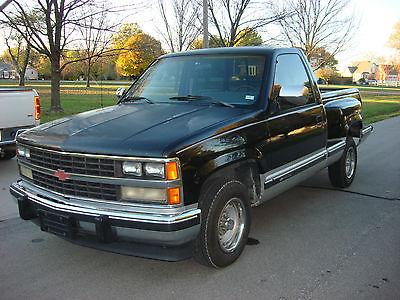 Chevrolet : Silverado 1500 1989 chevrolet silverado short bed step side zero rust original 99 740