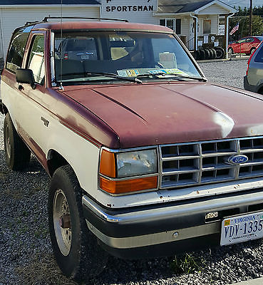 Ford : Bronco II XLT 89 ford bronco ii