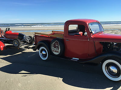 Ford : Other Pickups truck 1936 ford truck vintage hotrod race of gentlemen merc flathead