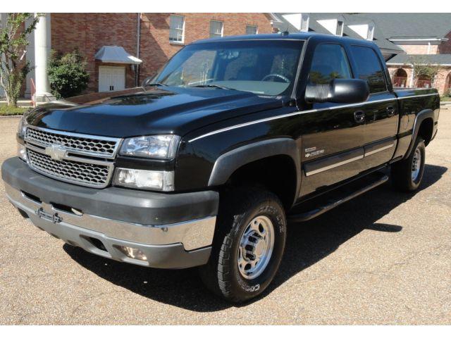 Chevrolet : Silverado 2500 LT 4X4 4WD 6.6 DURAMAX DIESEL Z82 Z85 1SZ LOADED HEATED LEATHER MEMORY SEATS BOSE 6CD Changer KEYLESS ENTRY Tow Pkg NERF BARS