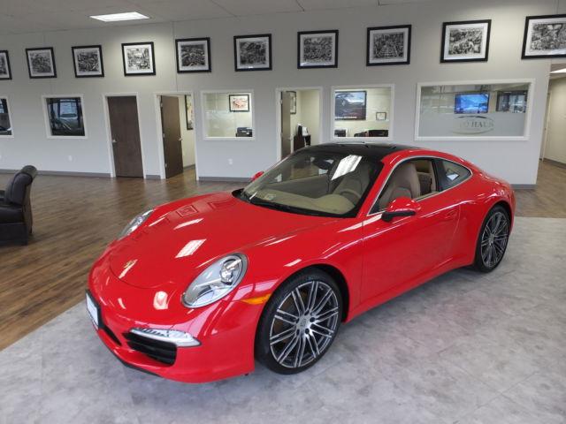 Porsche : 911 2014 porsche 911 carrera looks runs drives like new only 316 actual miles