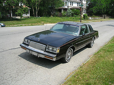 Buick : Regal Limited 1986 buick regal limited v 8 coupe all options leather interior