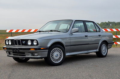 BMW : 3-Series E30 IX 1989 bmw 325 ix sedan 4 door 2.5 l e 30 ix enthusiast owned silver clean clear
