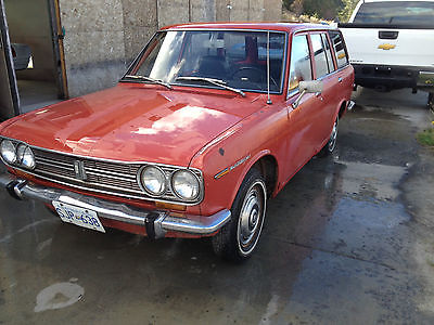 Datsun : Other 510 1969 datsun 510 wagon barn find