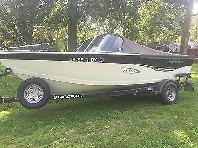 17' Starcraft fishing and ski boat