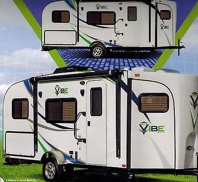 2013 V-Cross VIBE Model 6504 by Forest River Camping Trailer
