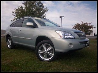 Lexus : RX AWD Hybrid 08 rx 400 hybrid awd navigation sunroof excellent service history call today