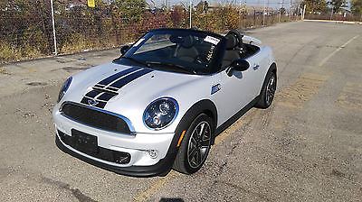 Mini : Roadster ROADSTER S 2015 mini cooper roadster s 2000 miles mint condition