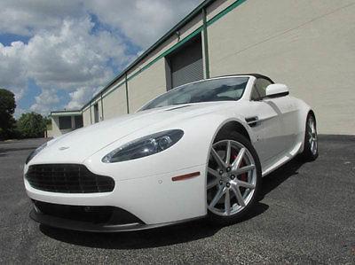 Aston Martin : Vantage Roadster 2dr Convertible 2014 aston martin v 8 vantage roadster 2 dr convertible white