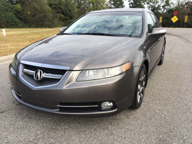 Acura : TL Type S 2008 acura tl type s navigation warranty satellite sunroof clean carfax