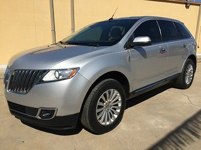 Lincoln : MKX Certified 2013 lincoln mkx leather heated and cooled seats 18 alloys
