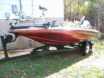 !!!LOOK!!! 16FT 1988 AGGRESSOR 158 MAGNUM BASS BOAT 88HP JOHNSON !!!VERY NICE!!!