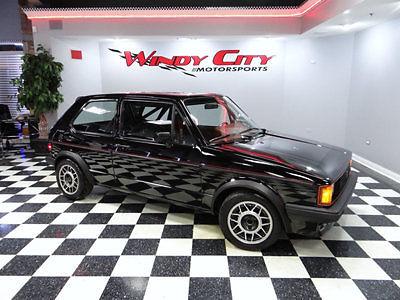 Volkswagen : Rabbit GTI 1983 vw rabbit gti mk 1 1 owner 16 v meticulous service rust free mint must see