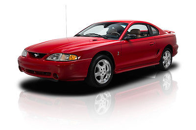 Ford : Mustang Cobra Documented 2,175 Actual Mile Mustang Cobra EFI 5.0 Liter V8 5 Speed PS A/C