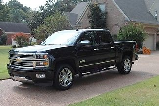 Chevrolet : Silverado 1500 High Country Crew Cab One Owner Accident Free Low Miles Fully Loaded High Country Original MSRP $48775