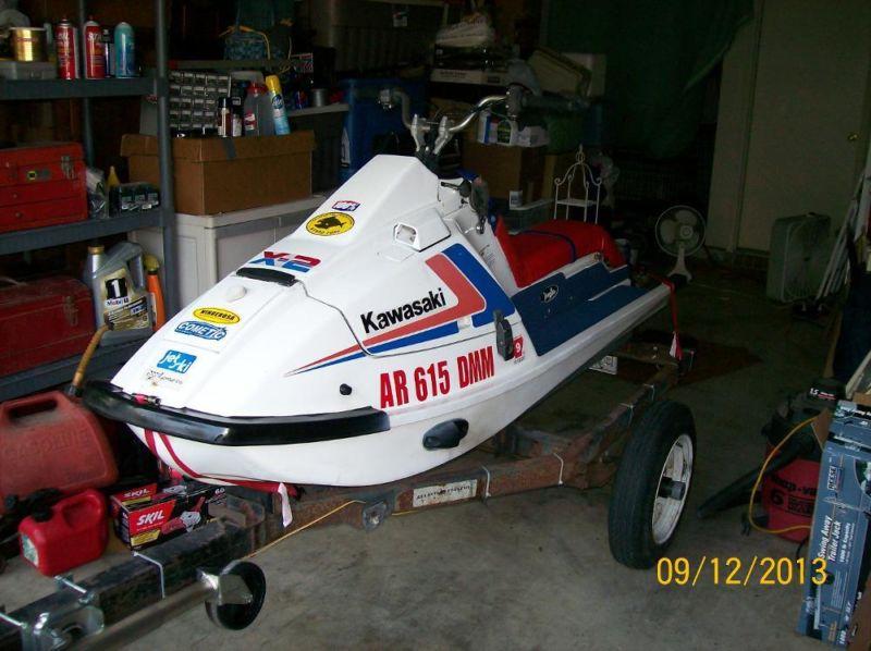 1987 Kawasaki X2 Jetski NICE!