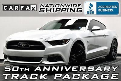 Ford : Mustang 50th Anniversary 2 k fully loaded gt track pkg 50 th anniversary 401 a navigation blindspot 5.0