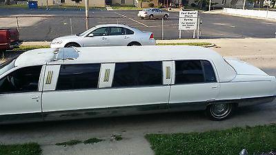 Cadillac : Fleetwood 5 door 1996 cadillac fleet wood limousine