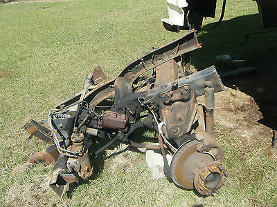 Chevrolet : Other P30 Chev front end including brakes, rotors, spindles and shocks