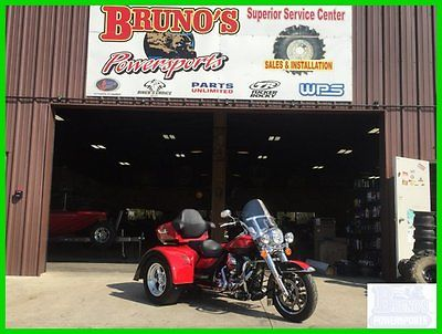 Harley-Davidson : Touring 2014 harley davidson road king trike loaded air ride w reverse free shipping