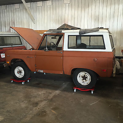 Ford : Bronco 1969 ford bronco project low miles very complete and unmolested