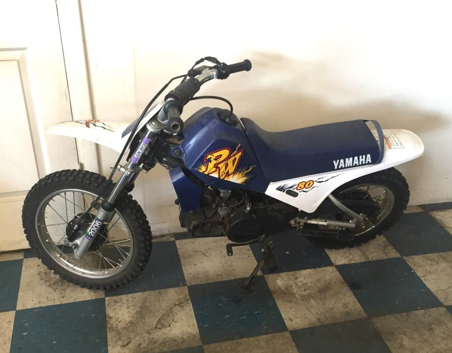 Yamaha pw 80 motorcycles for sale in california for 2001 yamaha pw80 for sale
