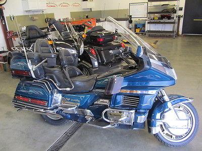 Honda : Gold Wing 1994 honda gl 1500 se goldwing w escapade trailer