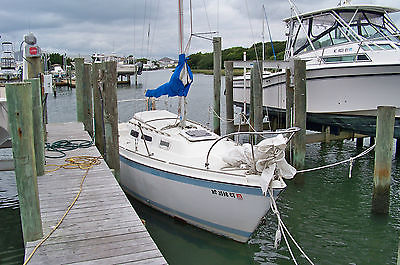 1977 O'Day Sailboat 25ft Centerboard