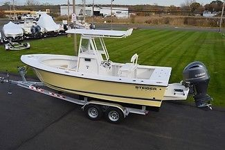 Brand New 2015 Steiger Craft 21DV Center Console, 200HP YAM. Save Thousands $$$