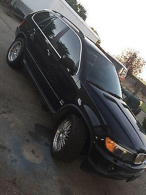 BMW : X5 4.4i Sport Utility 4-Door 2001 bmw x 5 all wheel drive black