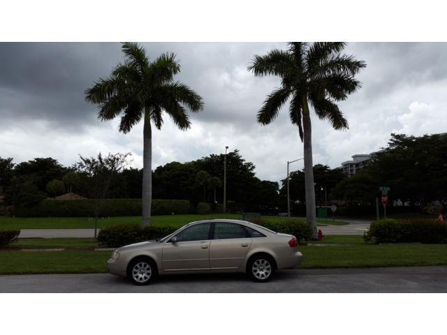 Audi : A6 4dr Sdn Quat 2001 a 6 audi one owner fully loaded luxury all wheel drive sedan