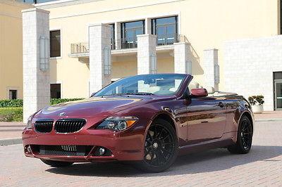 BMW : 6-Series 645Ci 2004 bmw 6 series 645 ci sport nav active steering logic 7 pdc cold wthr pkg