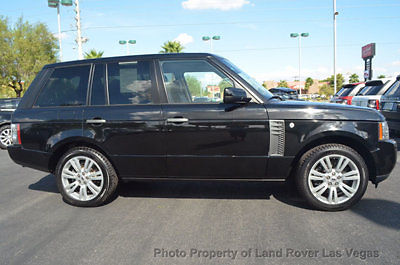 Land Rover : Range Rover 4WD 4dr HSE LUX 2011 range rover