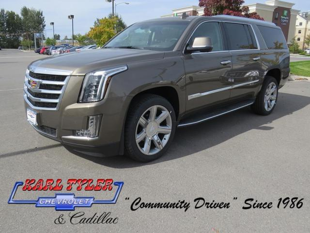Cadillac : Escalade Premium Premium New SUV OnStar Fuel Consumption: City: 14 mpg Driver seat memory Compass