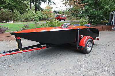 1963 wood crackerbox boat